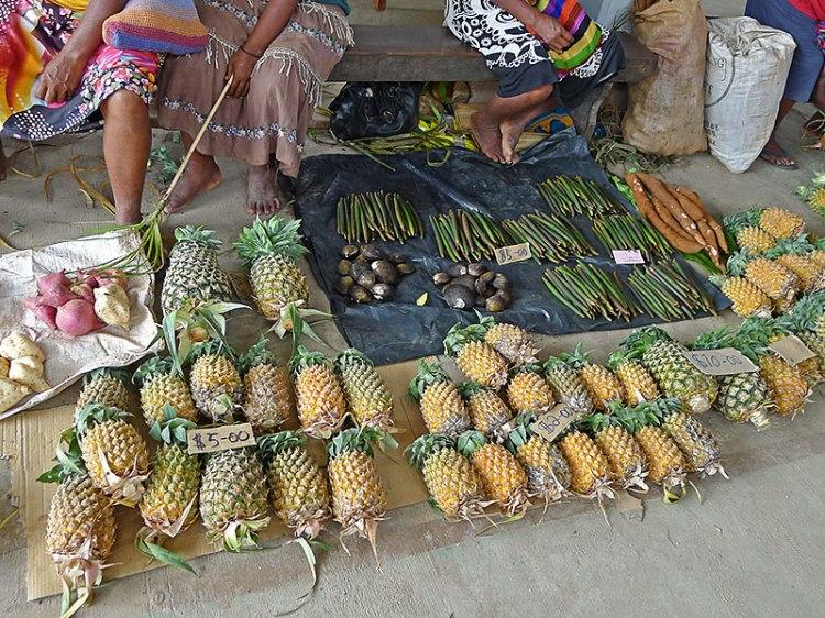 Fresh produce, Auki market Malaita Province
