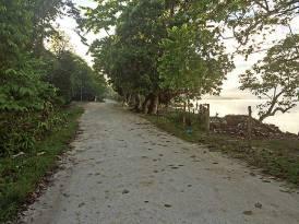 The sandy roads of Munda